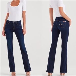 7FAM 7 For All Mankind Kimmie Boot Jeans LONG TALL